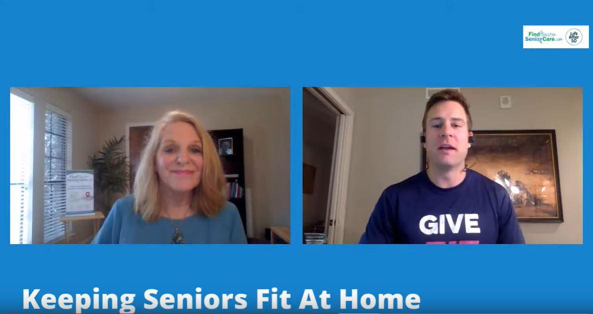 Keeping Seniors Fit at Home