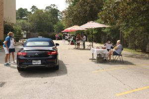Drive-Thru Gathering at KUMC