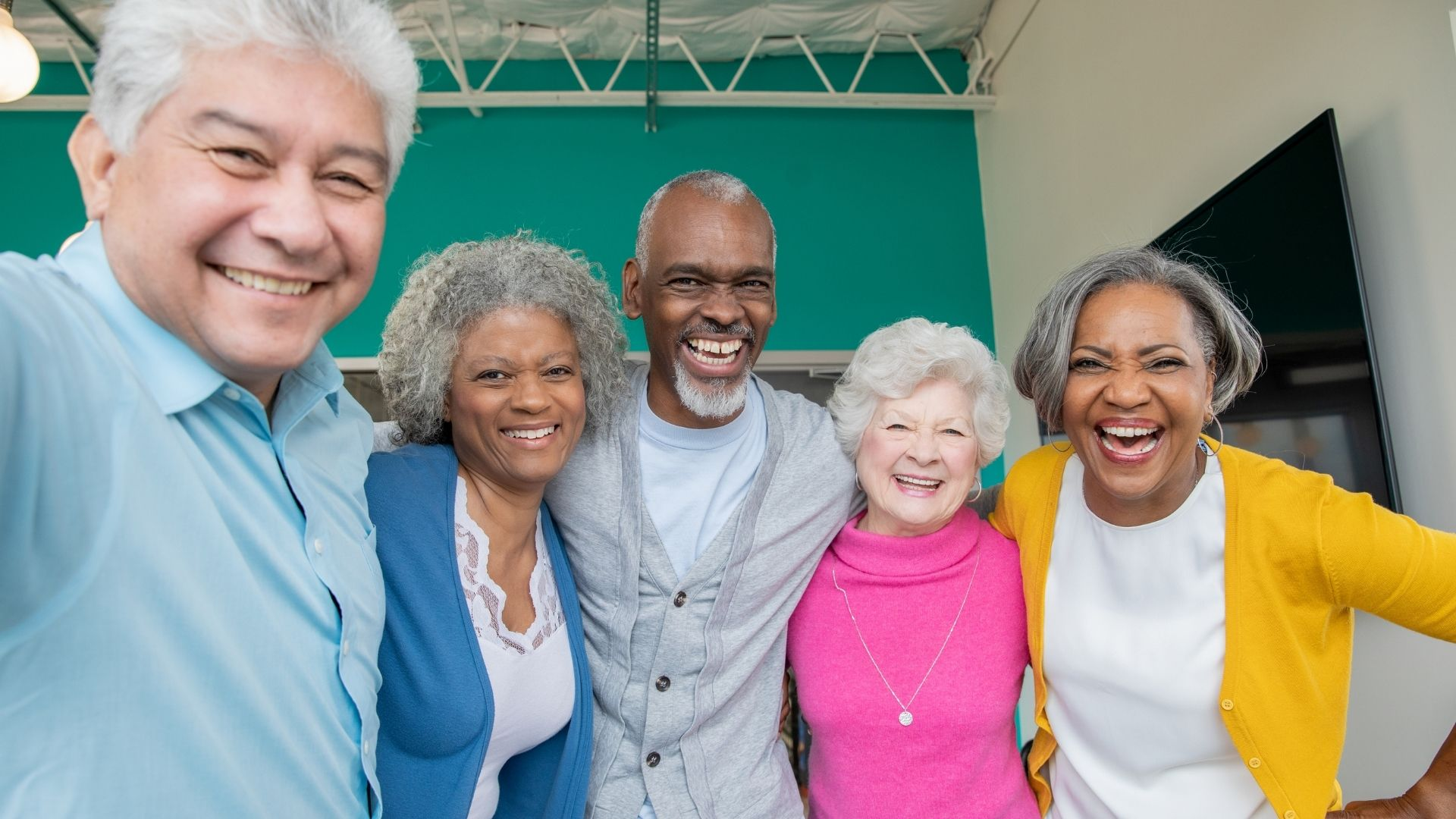 Promoting Healthy Aging group of seniors