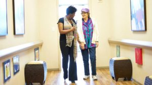 Entering the Dementia Day Center